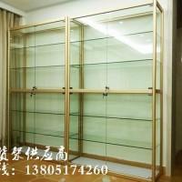 南京钛合金玻璃展柜安装