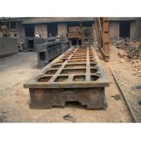 龙门铣床床身铸件  机床铸件可定做